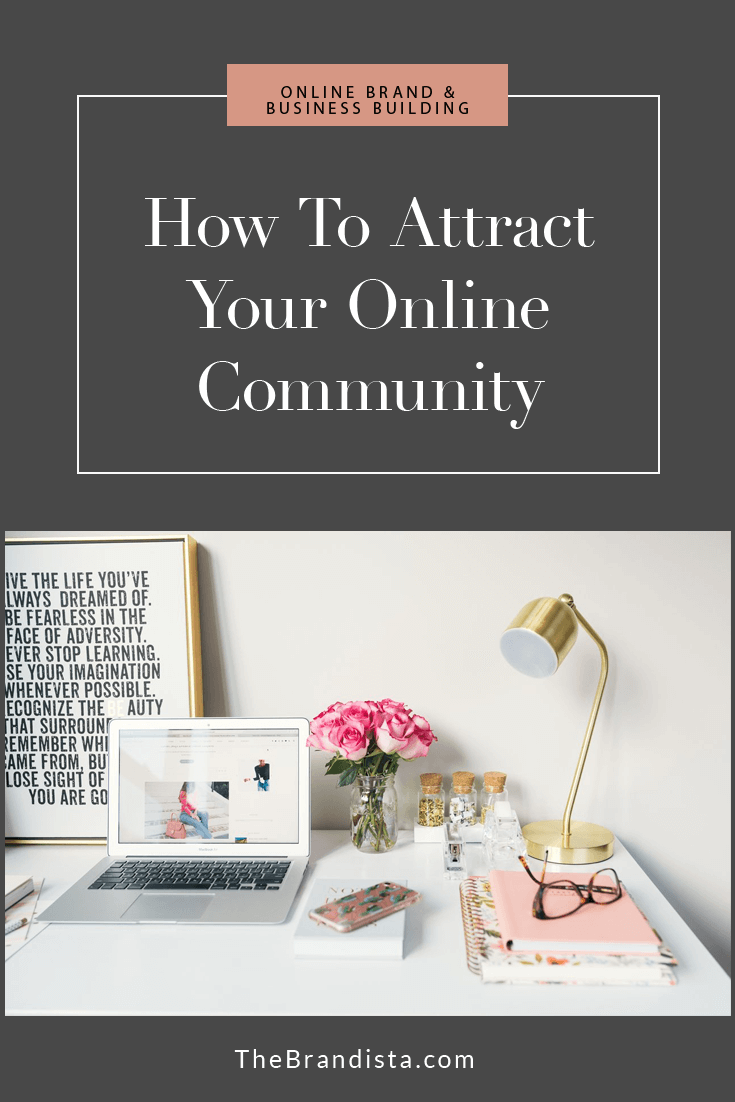 how to attract your online community